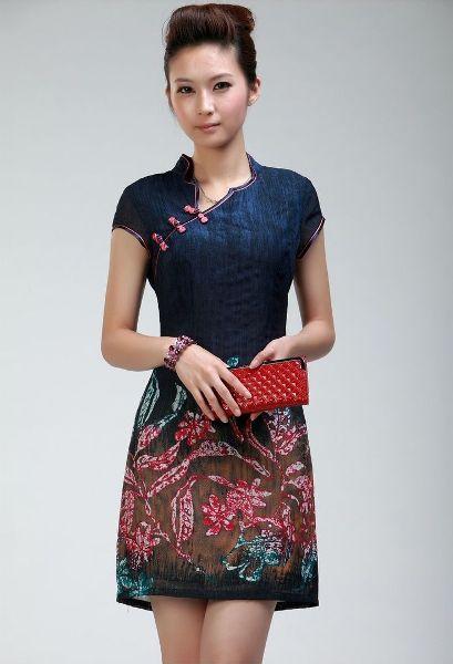Dress Wanita Dress Batik Wanita Modern